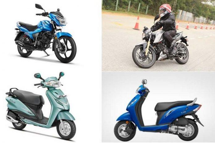BS III Vehicles, BS III, Two Wheel Vehicles