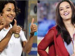 Juhi Chawla, Preity Zinta