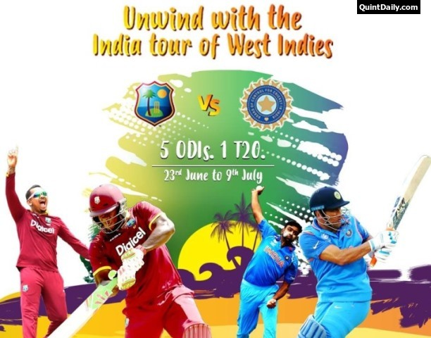 India vs West Indies 2017