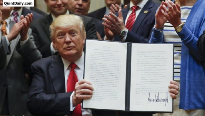 Trump New American Regulations
