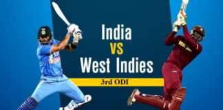 India vs West Indies 3rd ODI 2017 Match Prediction / Results