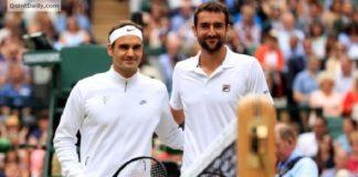 Roger Federer vs Marin Cilic Wimbledon Final Results 2017