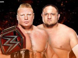 Brock Lesnar vs Samoa Joe - WWE Great Balls of Fire 2017 Results
