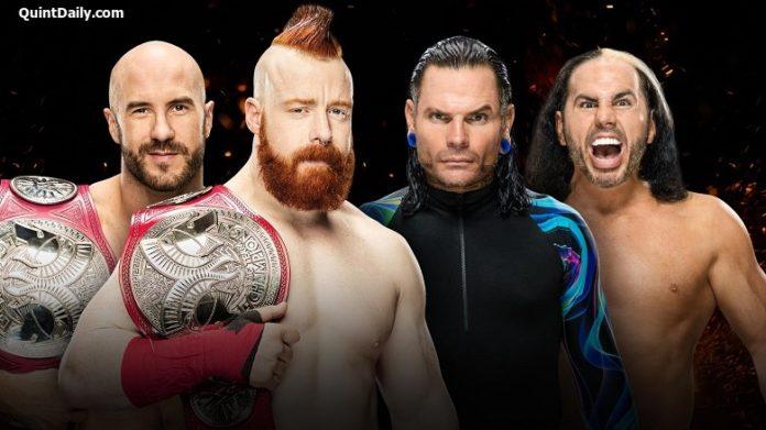 Cesaro and Sheamus vs The Hardy Boyz - 30-minute Iron Man match