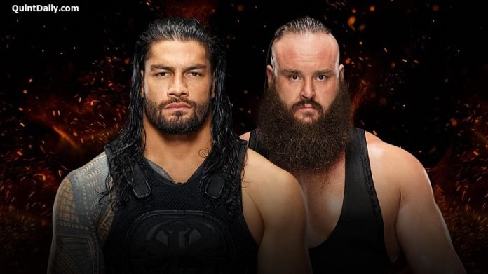 Roman Reigns vs Braun Strowman : WWE Great Balls of Fire Results 2017