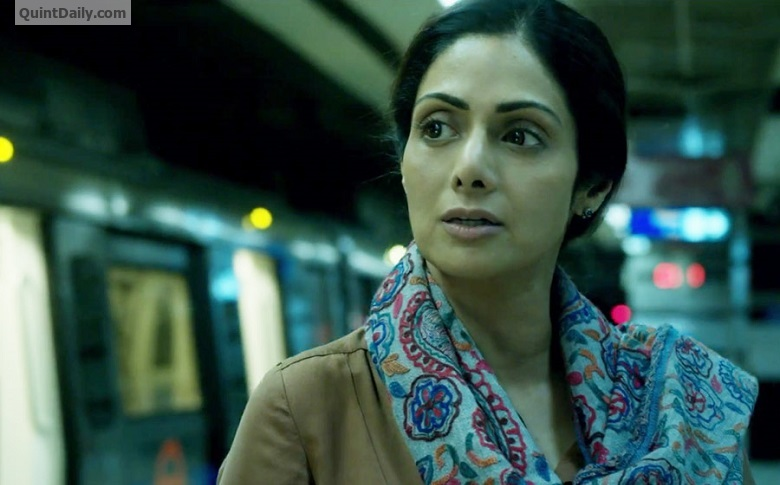 Sridevi visits Siddhivinayak Temple to seek blessings for her movie 'Mom'