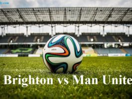 Brighton vs Man United Premier League Results