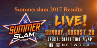 Summerslam 2017 Results