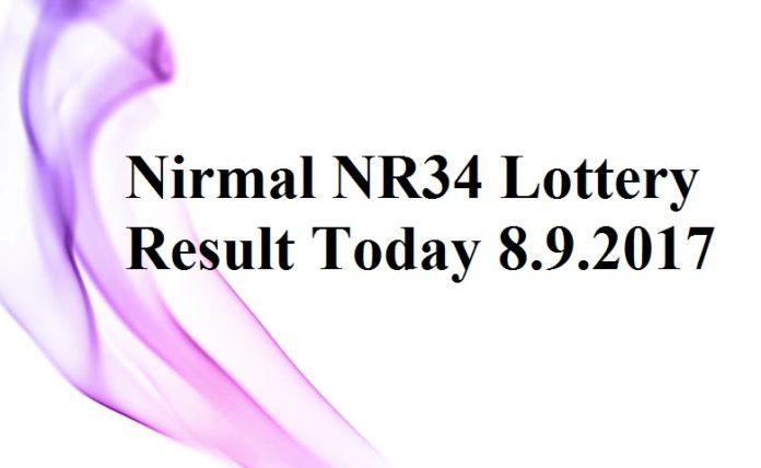 Nirmal NR34 Lottery Result