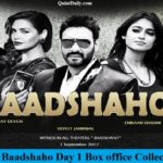 Baadshaho Day 1 Box office Collection