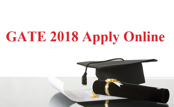 GATE 2018 Apply Online