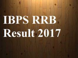 IBPS RRB Result 2017