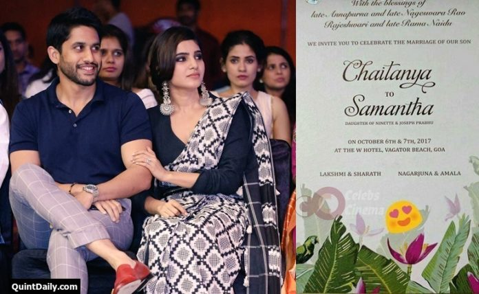 Samantha Marriage at Goa