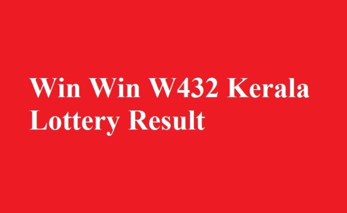 Win Win W432 Kerala Lottery Result