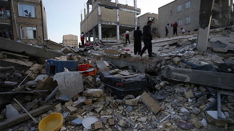 Iraq Iran EarthQuake
