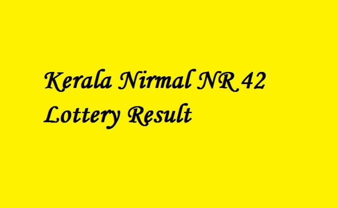 Nirmal NR 42 Lottery Result