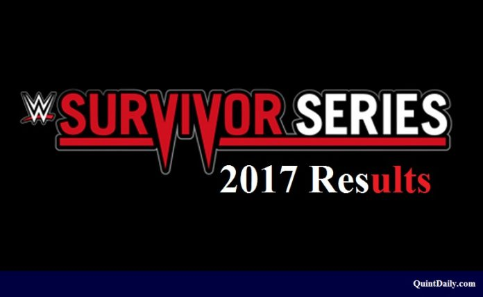 Survivor Series 2017 Results
