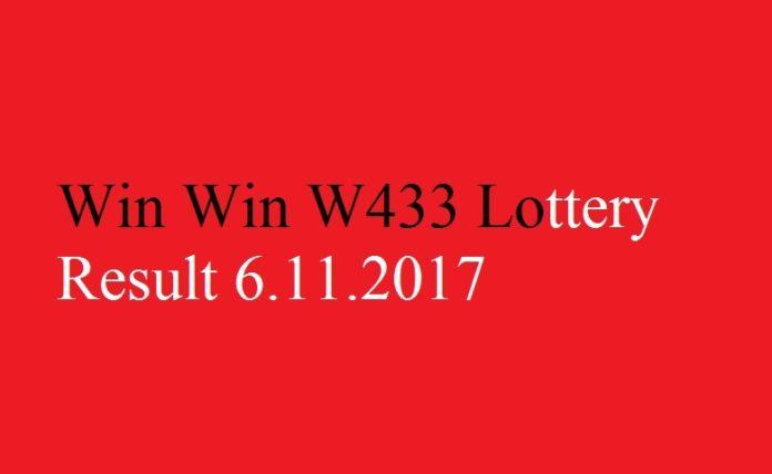 Win Win W433 Lottery Result