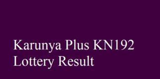 Karunya Plus KN192