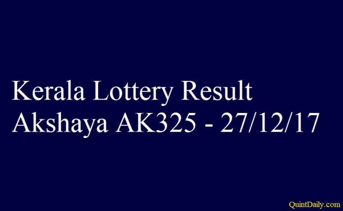 Akshaya AK325
