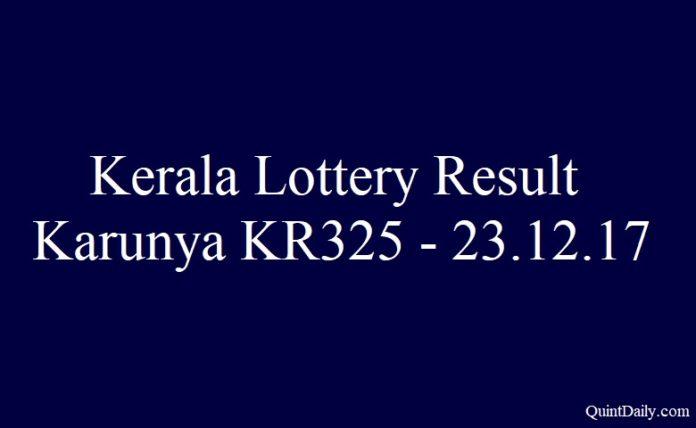 Karunya KR325