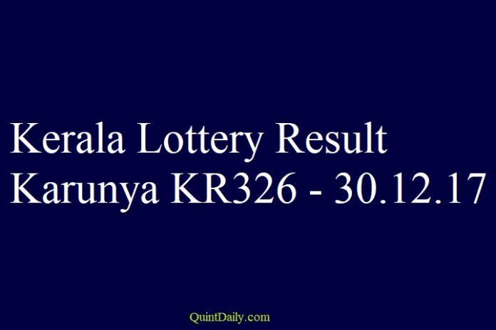Karunya KR326