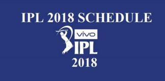 IPL 2018 Schedule #ipl2018 #ipl2018schedule #iplschedule #ipl11 quintdaily.com