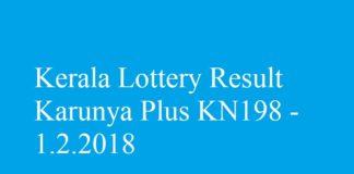 Karunya Plus KN198