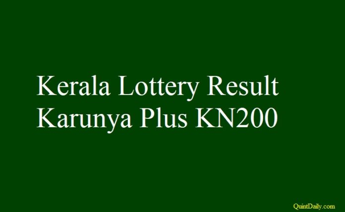 Karunya Plus KN200 #KarunyaplusKN200 #KeralalotteryresultKN200 quintdaily.com