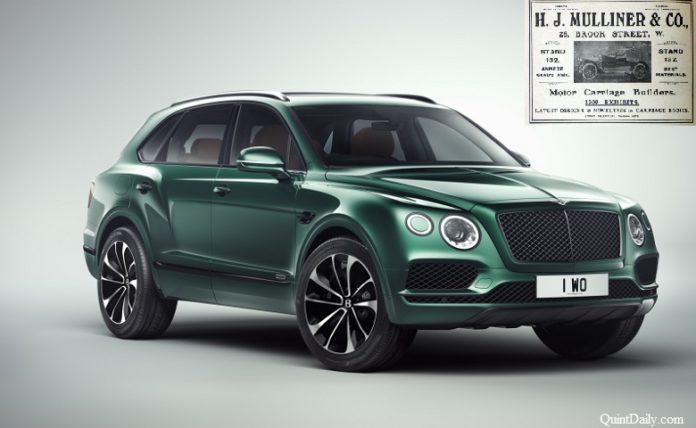 Bentley Bentayga #Mulliner #BentleyBentayga QuintDaily.com