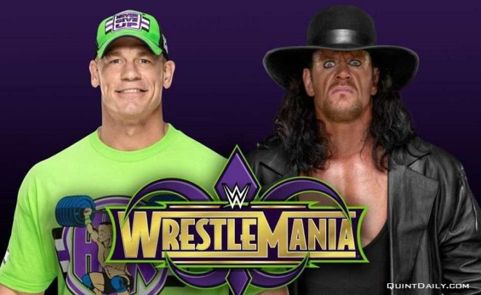 John Cena v Undertaker