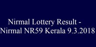 Nirmal NR59 #Keralalottery #LotteryResult #NirmalNR59 QuintDaily.com