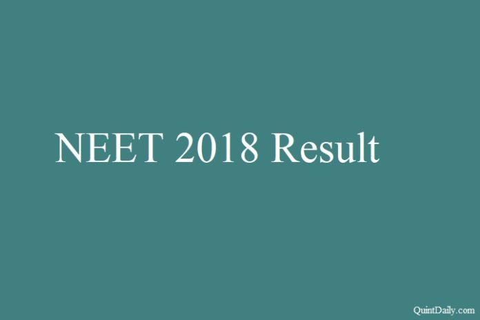 NEET 2018 Result