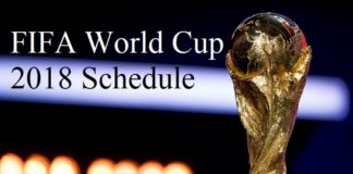 FIFA World Cup 2018 Schedule