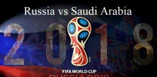 Russia vs Saudi Arabia FIFA 2018