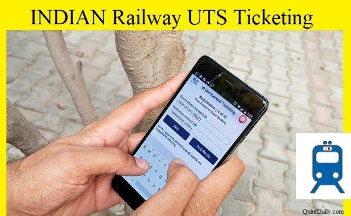 Indian Railway UTS App
