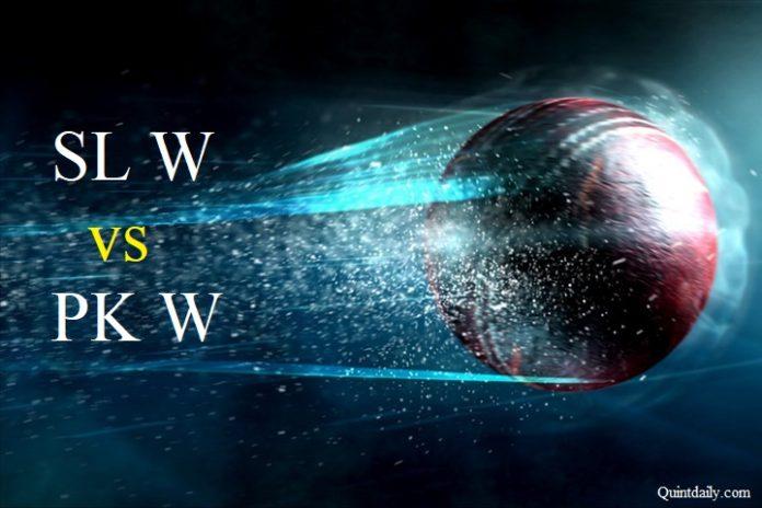 SL W vs PK W