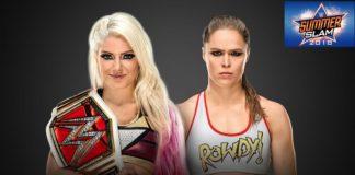 Ronda Rousey vs Alexa Bliss