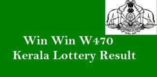 Win Win W470 Kerala Lottery Result #keralalotteryresult #winwinw470 quintdaily.com