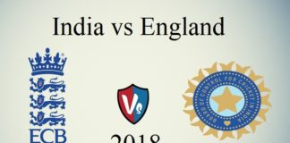 India vs Eng 2018 Schedule