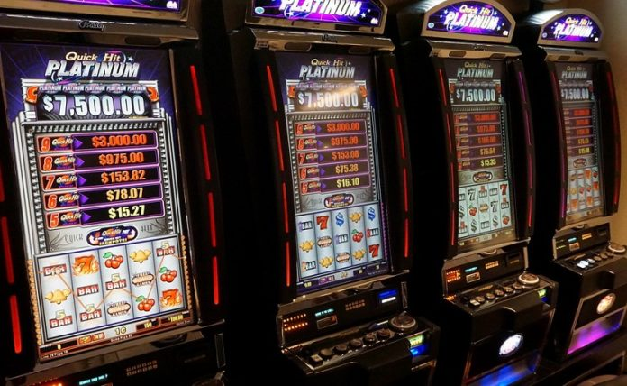 High Rollers Play Slots