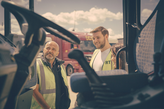 HGV driver training in London