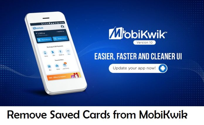 Remove Saved Cards from MobiKwik
