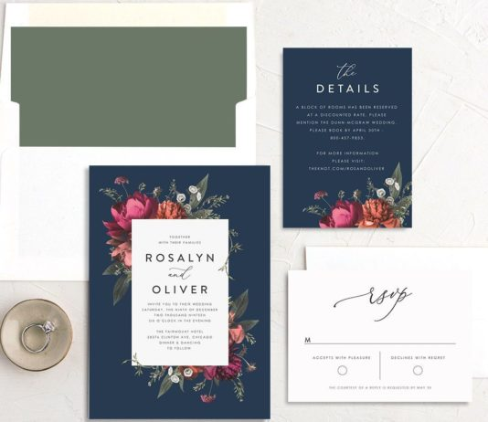 Text RSVP on Your Wedding Invitations