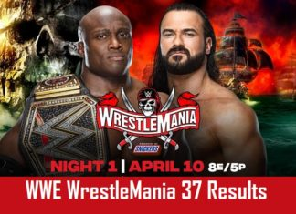 WrestleMania 37 Results
