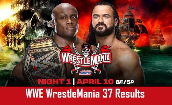 WrestleMania 37 Results