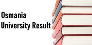 Osmania University Result 2021