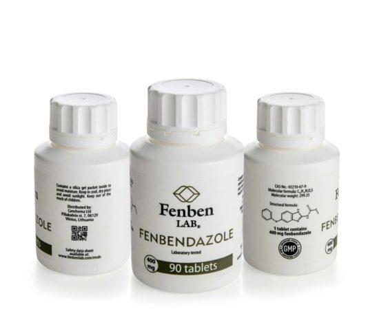 C worming have stopped by fenbendazole