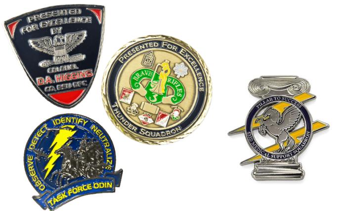 सेना चुनौती सिक्के